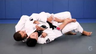 A basic defense against a back attack