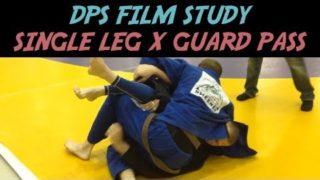 Single Leg X Guard Pass + Stabilization