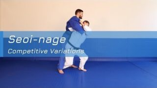 Seoi-nage – Competitive variations