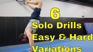 6 BJJ Solo Drills For Hip Movement & Guard Passing