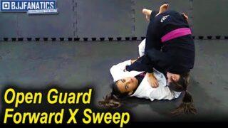 Open Guard Forward X Sweep